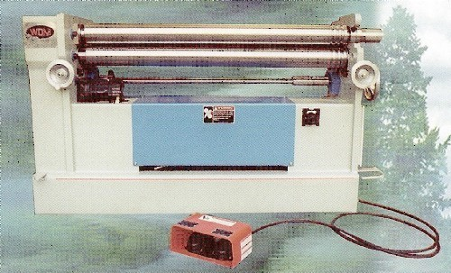 4' x 8 Ga., WDM No. B-5-48, Initial Pinch, Hydraulic, 7 HP, New