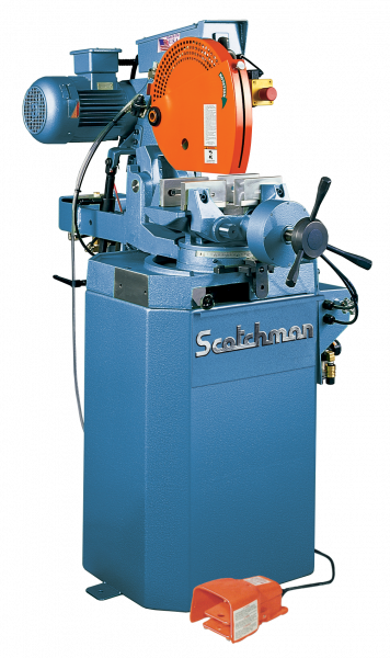 "14"", SCOTCHMAN CPO 350 NFPKPD, Miter, 1500/3000 RPM, Coolant, 3 HP, New"