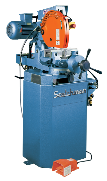 "14"", SCOTCHMAN CPO 350 NFPKPD, Miter, 1500/3000 RPM, Coolant, 3 HP, New"