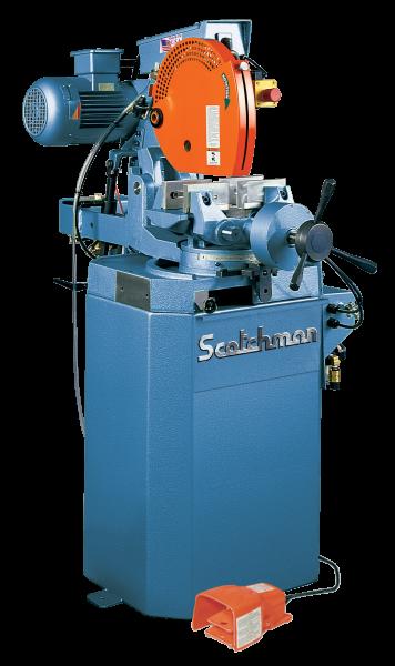 14″, SCOTCHMAN CPO 350 NFPKPD, Miter, 1500/3000 RPM, Coolant, 3 HP, New