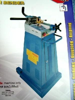 2″, ERCOLINA, No. SB48, 2″ Tube, 1-1/4″ Sch. 40 Pipe, PLC Control, New