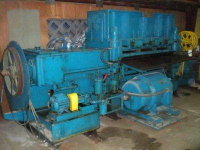 "66"" x 1-3/4"", BLAW KNOX / AETNA, 21 Roll, Triple Backed Up, 25 HP, 1967"