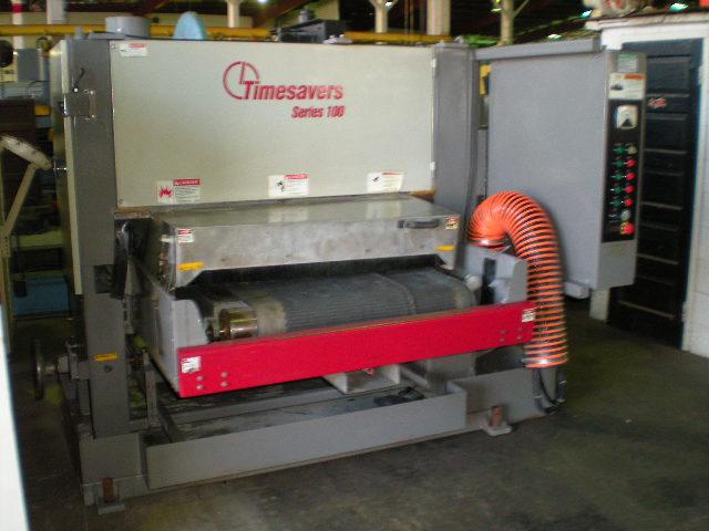 TIMESAVER, Model CS360, Multi-Directional Abrasive Disc Machine, Year 2000