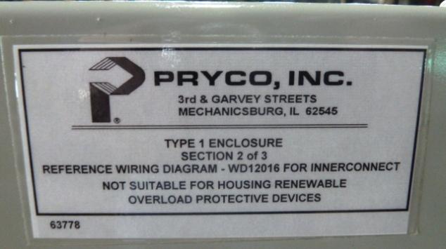 PRYCO, No. 397-12B, Fuel Pump, Never Used