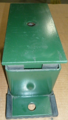 SPRING ISOLATION MOUNT: Color-Green w/ yellow springs, (3) Available