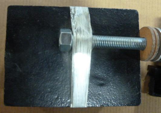 SPRING ISOLATION MOUNT: VMC, Color-Black w/ blue springs, Model: SPG MTG LKD-57 (2) Available