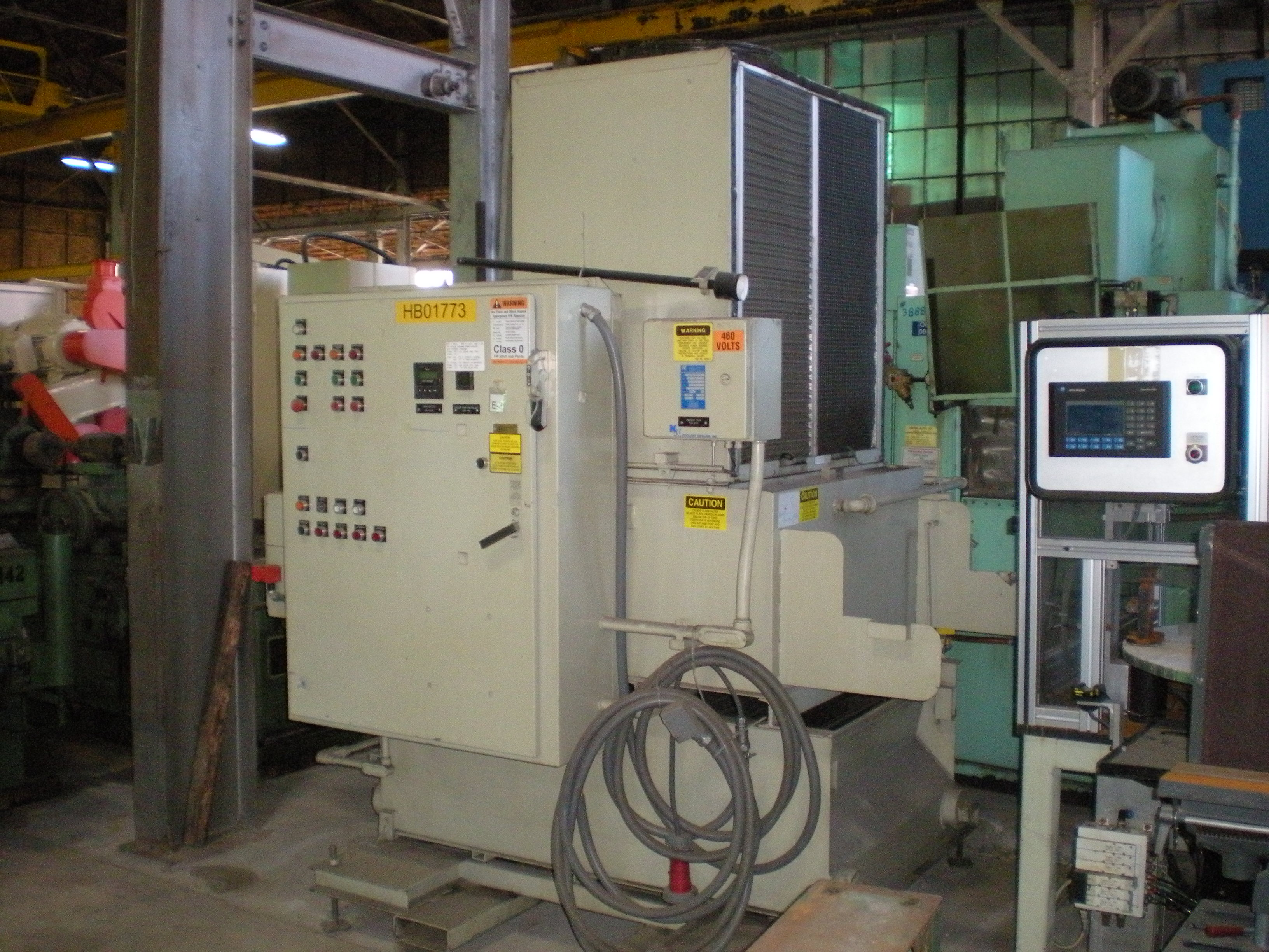 D.E. SMITH, No. LV638, Koolant Koolers Chiller, 80-100 GPM, 2002, Nice