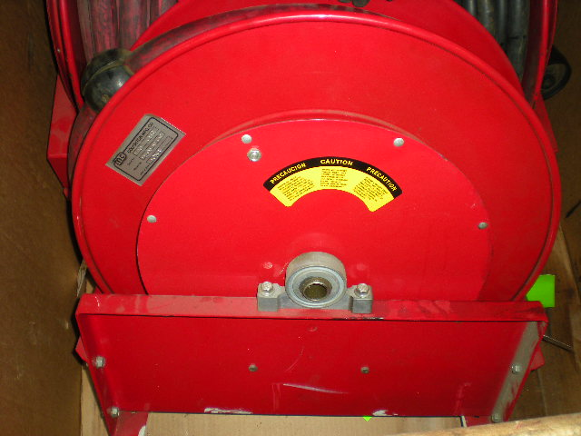 DOUGHTON Air Hose Reel Model 9300-OLP-BW