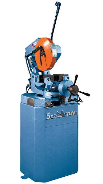 "14"" SCOTCHMAN No. CPO350 VS/PK , Miter, V-Speed, 2"" Solids, 4"" Tube, Air Vise, 5 HP, New"