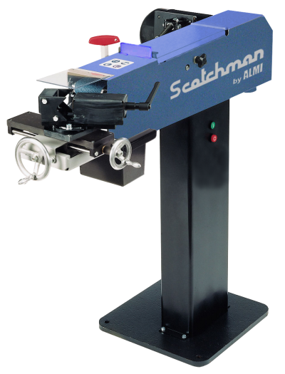 TUBE & PIPE NOTCHER/GRINDER: SCOTCHMAN, No. AL100U-02, 3/4″ – 3″ Diameter, 4 HP, NEW