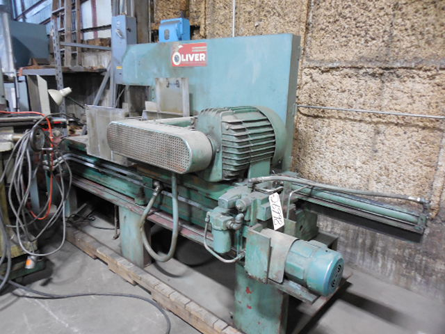 """OLIVER Cold Saw No. 858-M,  Non-Ferrous, 52"""" Diameter Blade, Hydraulic Vise, 25 HP, Low Price"""