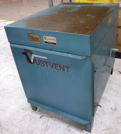 DUSTVENT, No. 3-150, Bag Type, 3 HP
