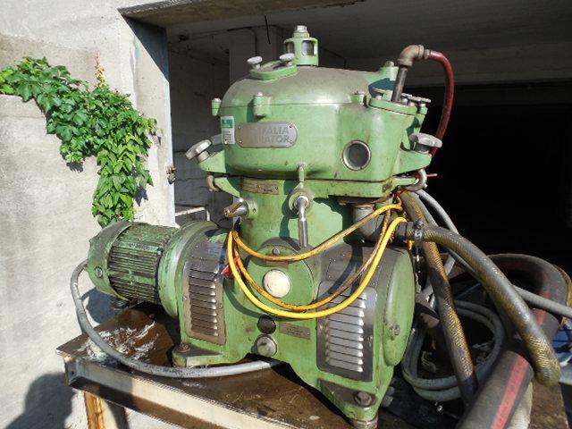 Westfalia Centrifuge Separator No. OTA7-00-066, 3 HP