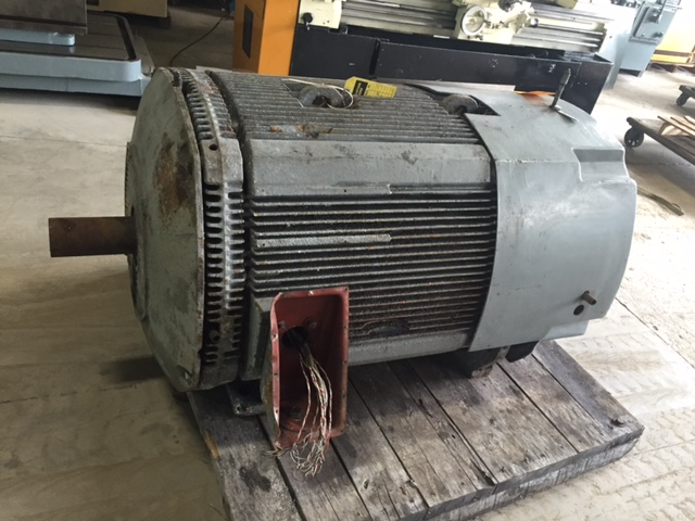 350 HP. 888 RPM. 460/60/3 TEFC Motor Westinghouse