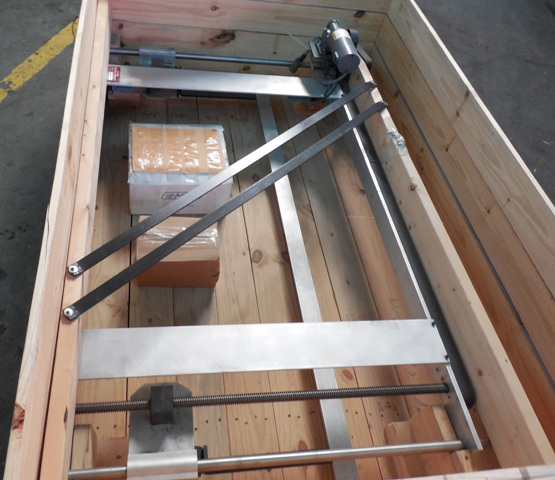 BACK GAUGE:  Fits 6'  National Shears, Digital, New, In Stock