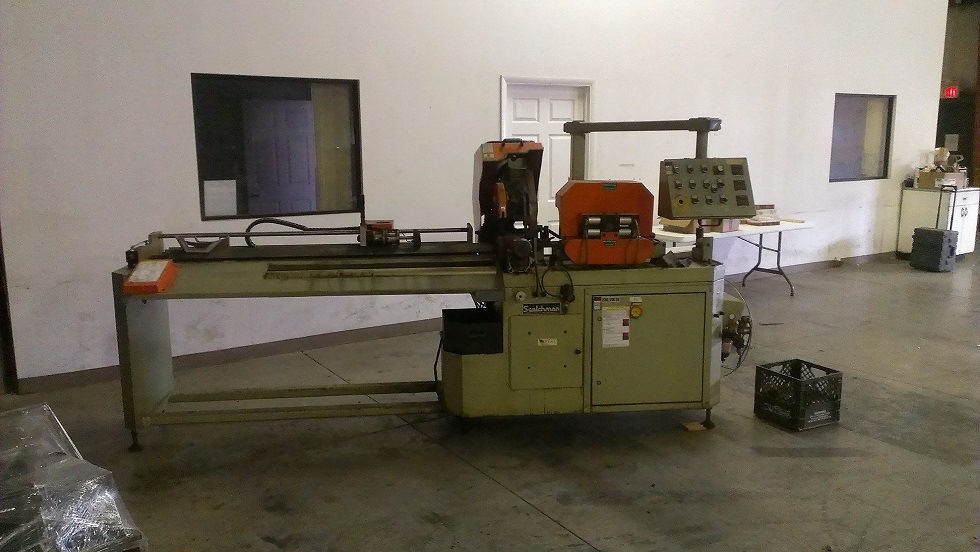 "12"" SCOTCHMAN Cold Saw No. CPO 315 RFA/HT, Auto Feed, 3.5"" Dia. Tube, 2"" Dia. Solids, 2001"