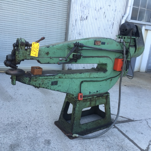 QUICKWORK No. 10A, Rotary Shear, 14 Ga. Cap., 60″ Throat