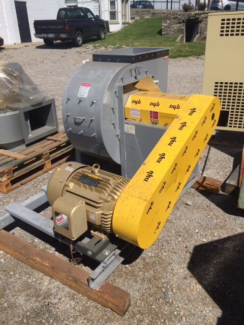 NEW YORK BLOWER, 25 HP, 7750 CFM, CCW Rotation, New-Unused