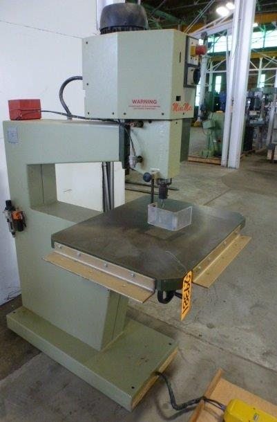"SCM Minimax High Speed Router No. 800F, 3"" Spindle Stroke, 31"" Throat, 9000/18,000 RPM, Nice"