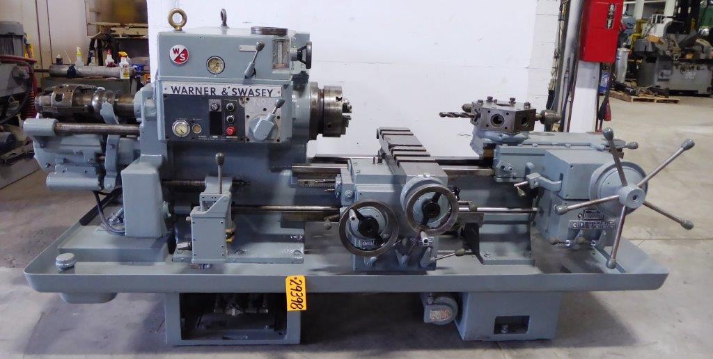 No. 5 WARNER & SWASEY Ram Type Turret Lathe, No. M-4660, 20″ Swing, 20 HP, Clean
