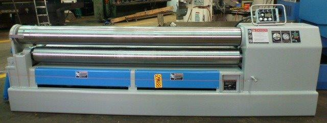 8′ x 5/16″ WDM Plate Bending Roll, No. K-9-8, Initial, Hyd., 9″ Rolls, 10 HP, New, In Stock