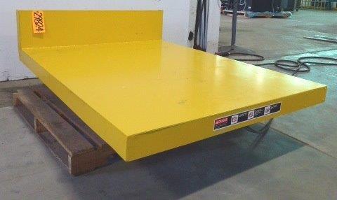 "6000 Lb. ECOA Hydraulic Lift/Tilt Table, 48"" x 62"" Platform, Pendant Control"