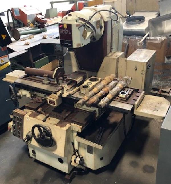 NIIGATA No. 3UMA, Horizontal/Vertical Mill, 15″ x 63″ Tbl., 45-1400 RPM, 50 Taper, 15 HP, DRO