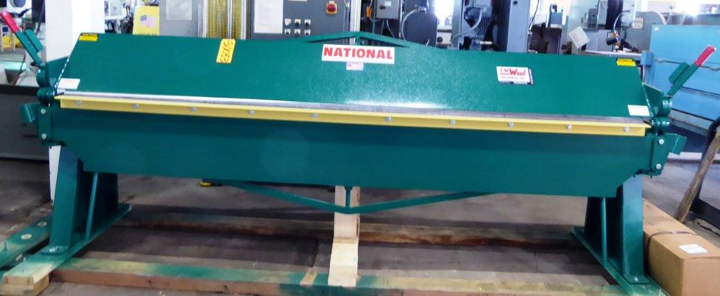 16 Ga. x 10′ NATIONAL, No. N12016, Floor Model, New, In Stock