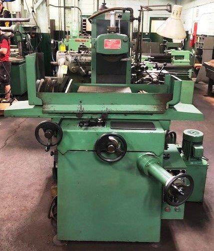 8″ x 16″ KENT Surface Grinder No. KGS-250AH, 2-Axis Hyd., Perm. Chuck, Coolant, Clean