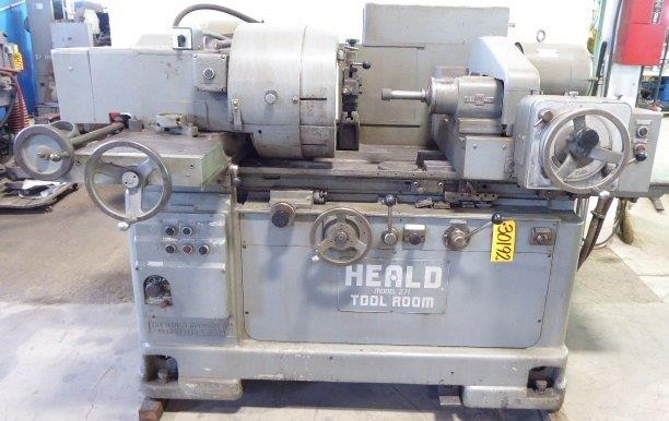 No. 271 HEALD, Toolroom, 12″ Dia. Mag. Chuck, Dresser, Low Price