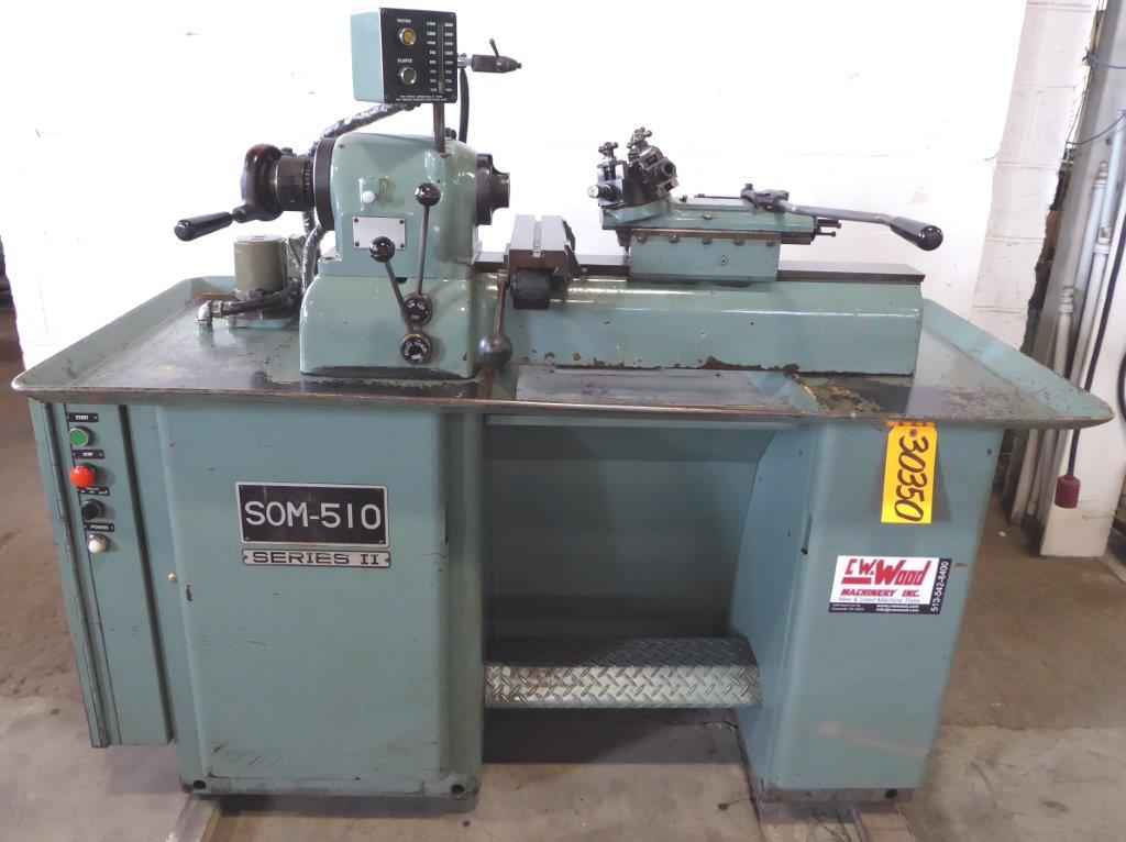 FEELER No. SOM-510 Series II, 230-3500 RPM, Lot Of Tooling, Clean