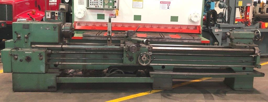 22″/31″ x 120″ TOS LAthe No. SN 55B, Gap Bed, Inch/mm, 10-1000 RPM, 3″ Hole, 10 HP