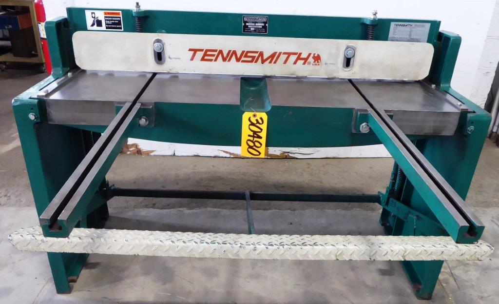 52″ x 16 Ga. TENNSMITH No. T52, Front Supports, ROMBG, 2007, Clean