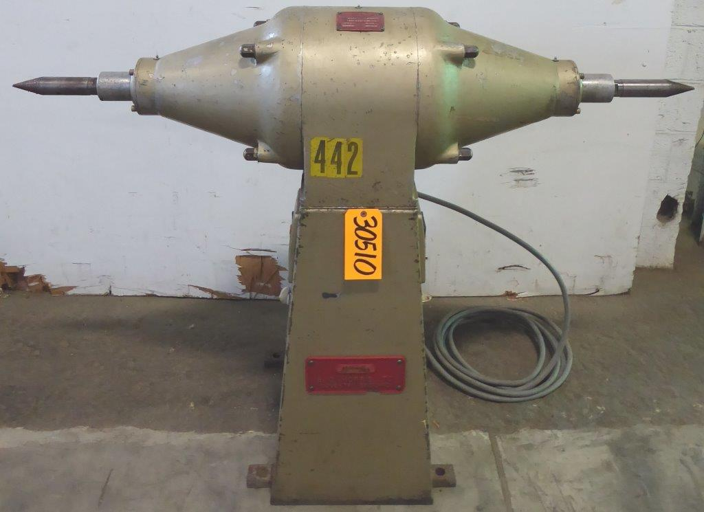 Morris No. 403, Double End Buffer, 3000/1500 RPM, 3 HP