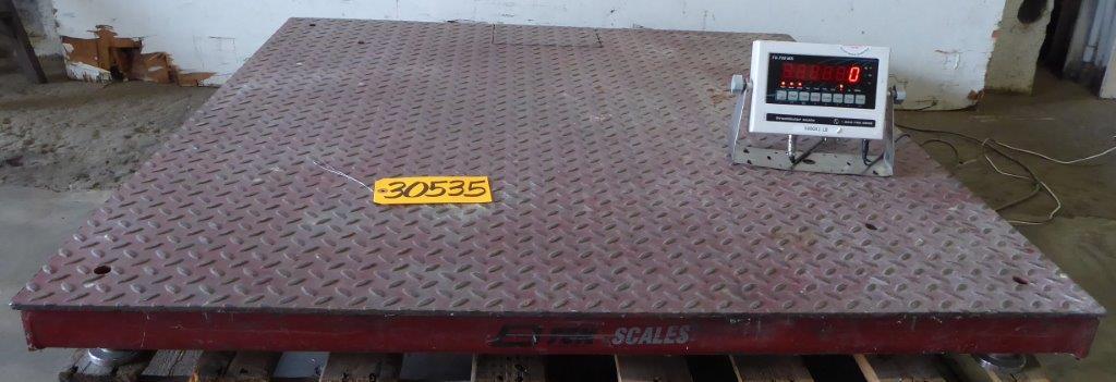 5000 Lb. B-TEK, Floor Scale, 48″ x 48″, DRO