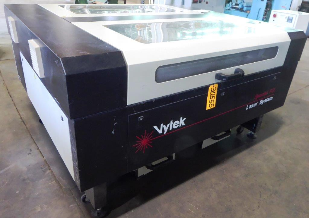 Vytek FXB 5151, 100 Watt, 51″ x 51″ Work Area, Chiller, 2008