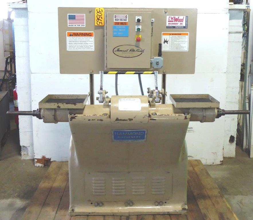 Hammond No. 7-SDL Double End Buffer, 1400 Spindle RPM, 7-1/2 HP, 2006