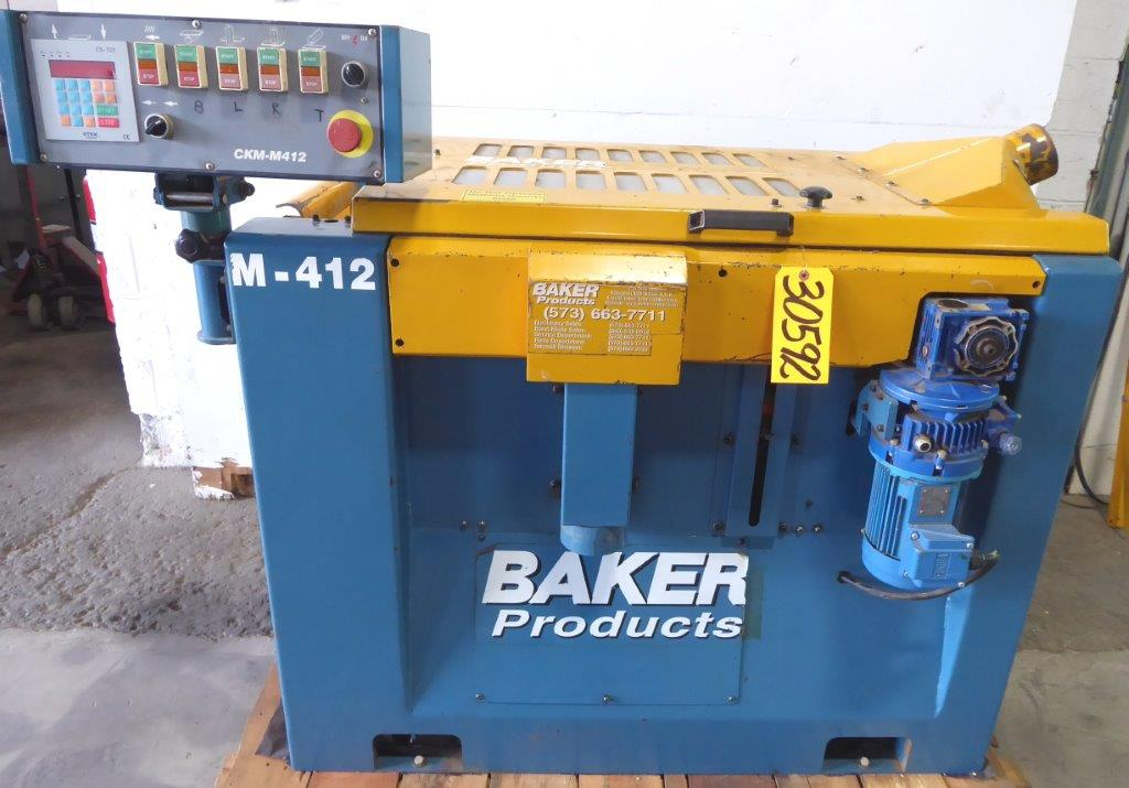 Baker Model M-412 Planer/Moulder, 13″W Planer Capacity, 2 &  4 Sided Moulding, 2007