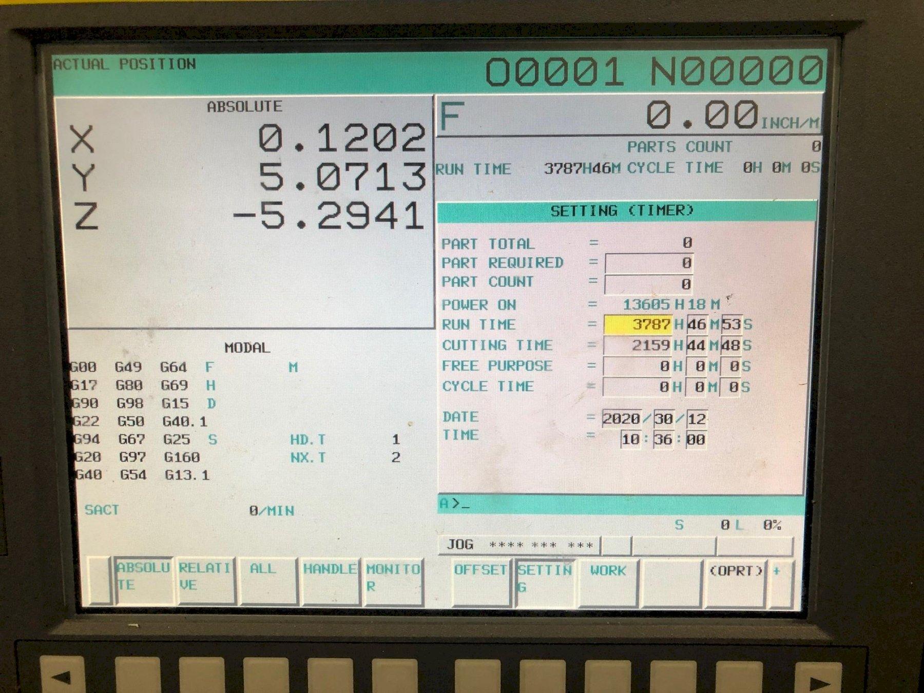 DOOSAN2013 Doosan DNM 400 4-Axis CNC Vertical Machining Centers - 2 Available!