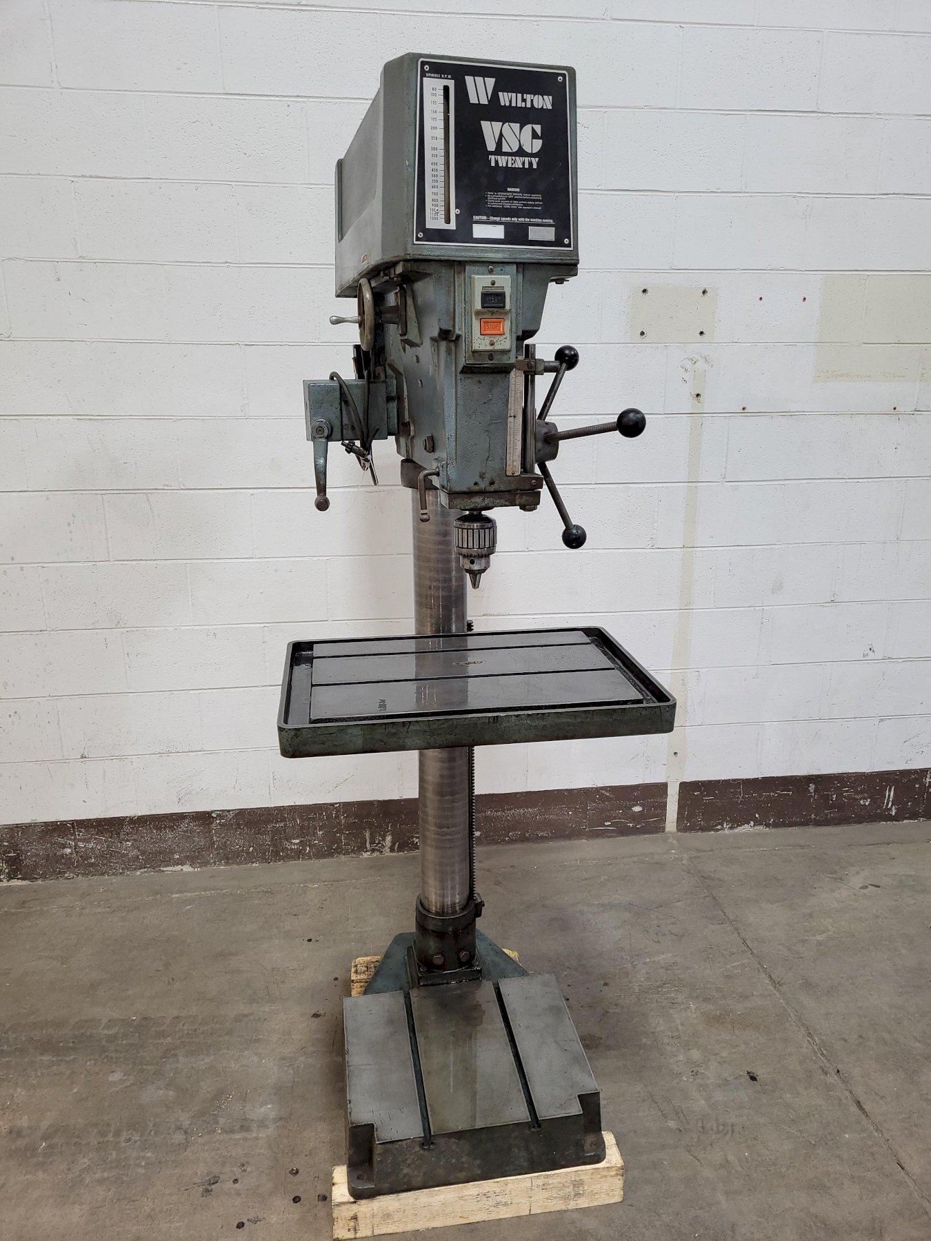 "20"" Wilton Model 2025VSG Floor Type Drill Press"