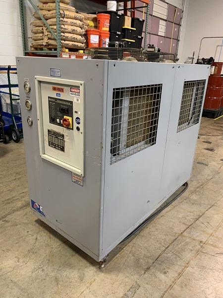 Budzar Used 10 ton Air Cooled Portable Chiller, BWA-AC-10-FC5-22, 460V, Yr. 2006