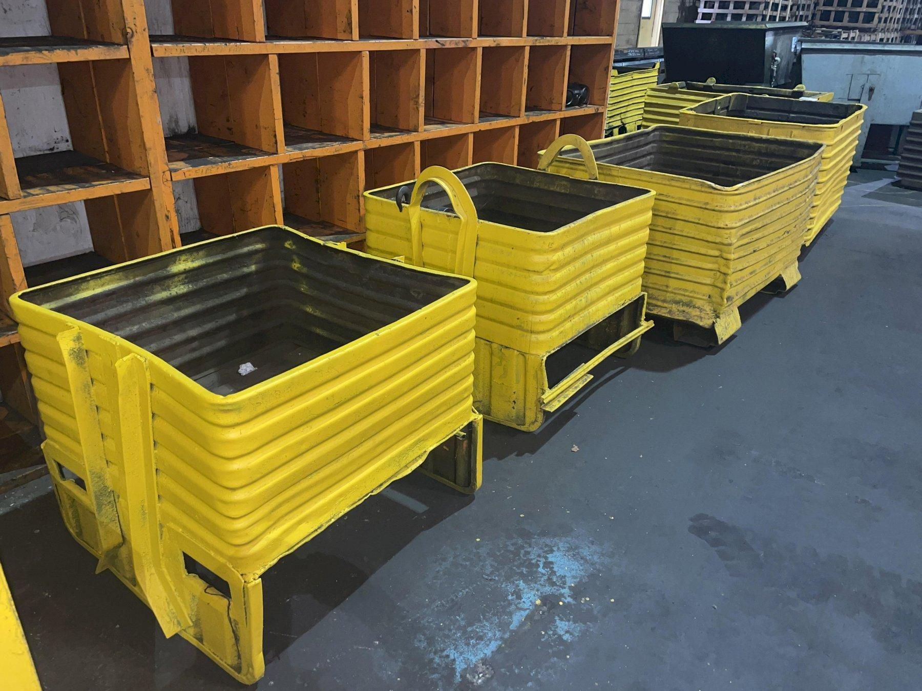 STEEL STORAGE TOTE HOPPERS: STOCK #14240