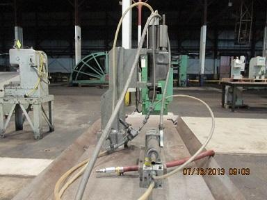 """ARO 1/4"""" AIR DRILL WITH L VENTS   Our stock number: 111976"""