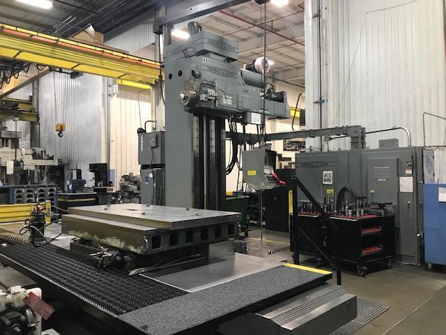 G&L G50T CNC Horizontal Boring Mill
