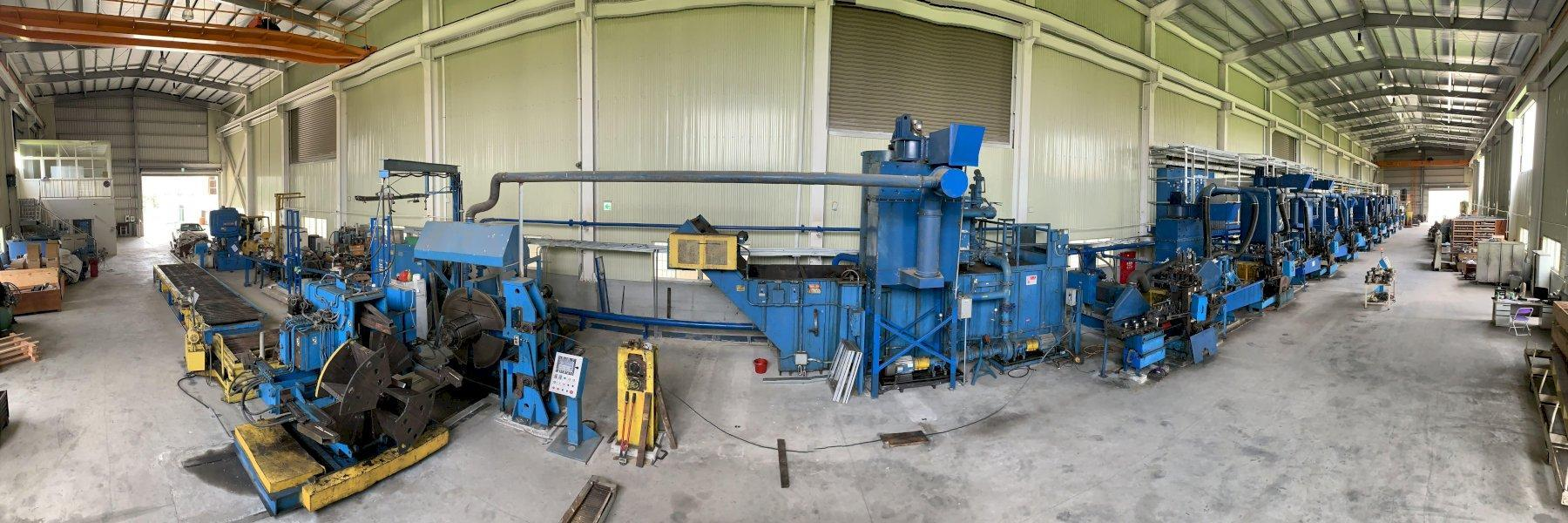 9 Stand I2S Wire Shaping Tandem Rolling Mill