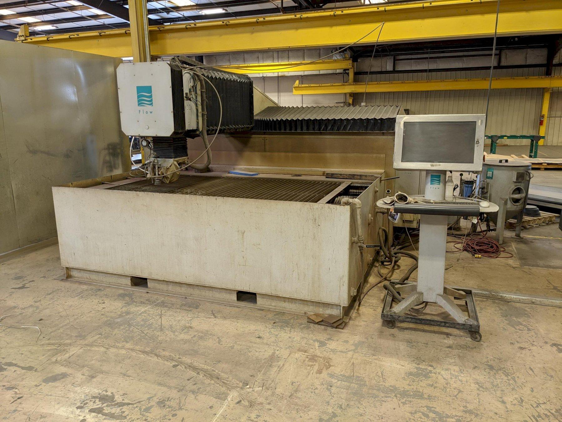 2006 Flow IFB 4800, 4x8, 60,000 PSI Waterjet Cutting Machine