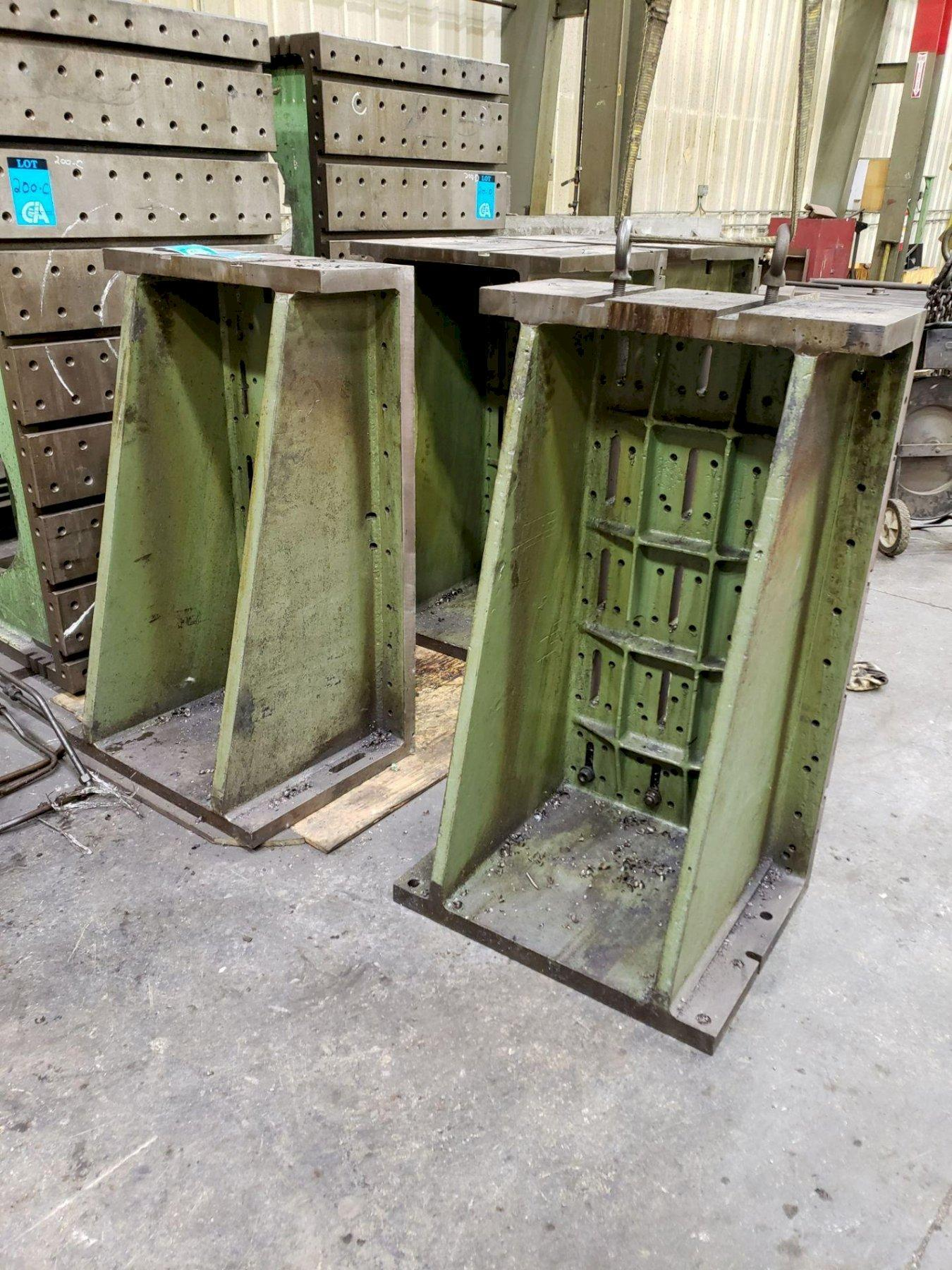 """50"""" T X 30"""" W X 11"""" D T-SLOTTED ANGLE PLATE. STOCK # 0311121"""