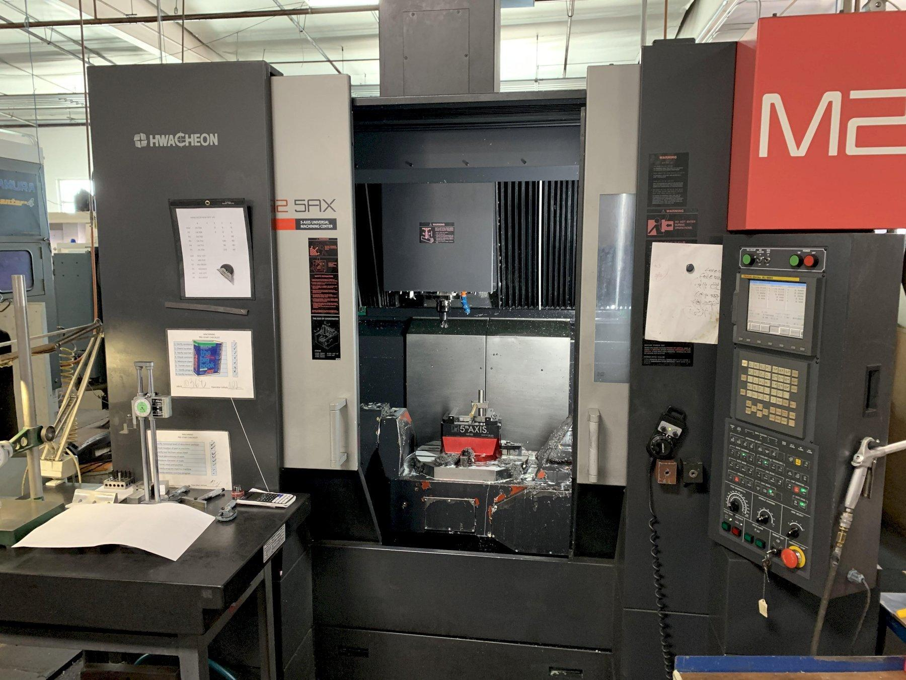 Hwacheon M2-5AX CNC 5-Axis VMC 2008