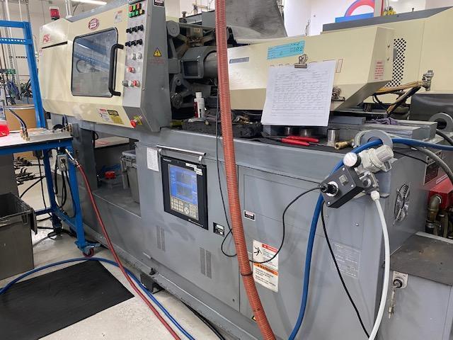 Nissei Used PS40E2A Injection Molding Machine, 44 US ton, Yr. 1998, 0.6 oz