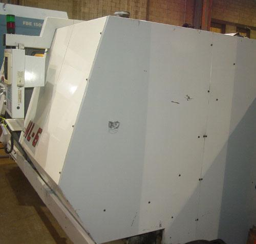 "HAAS HL-6 Haas CNC Control, 15"" Chuck, 40"" Swing over Bed, Tailstock w/ 51"" Centers, 30 HP, New 1998."